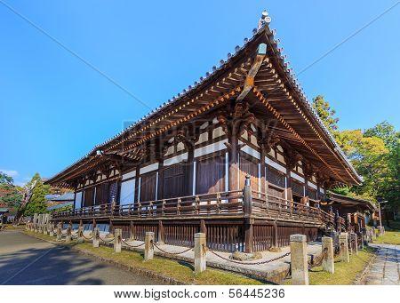 Sangatsu-do Hall in Nara