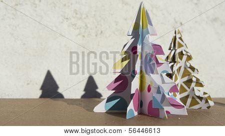 Fir Christmas paper