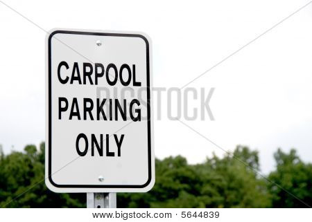 Carpool Parking Only