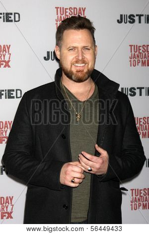 LOS ANGELES - JAN 6:  AJ Buckley at the