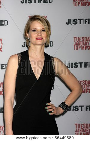 LOS ANGELES - JAN 6:  Joelle Carter at the