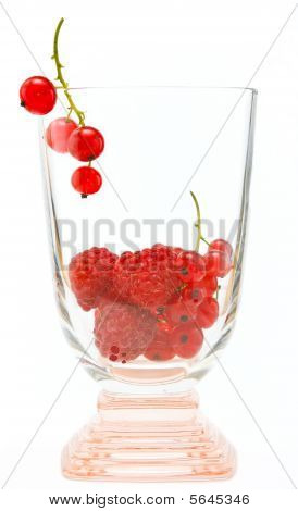 Berries in glass