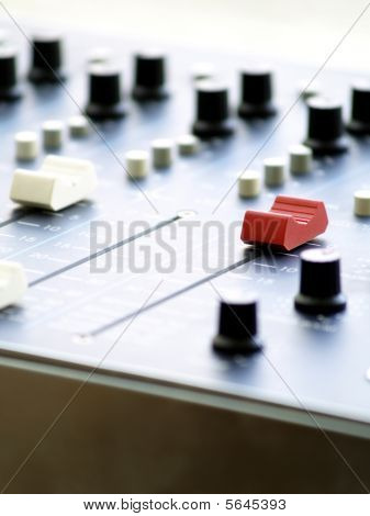 Mix Console.