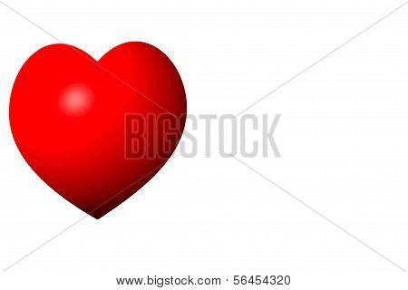 Valentine vermelho clássico