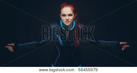 Futuristic women