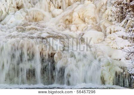 Winter Water Falls