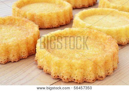 Mini  Sponge Cake Flans