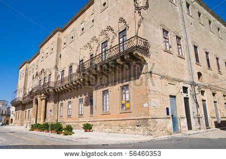 Imperiali-Filotico Palace. Manduria. Puglia. Italy.