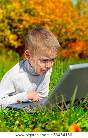 Kid With Notebook