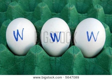 www on eggs