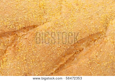 Background of yellow bread