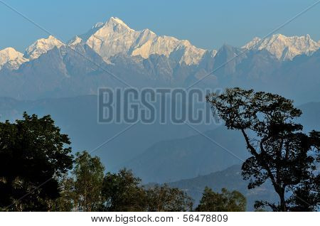 Kanchenjunga Mountain Range, Sikkim