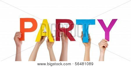 Colorful Word Party