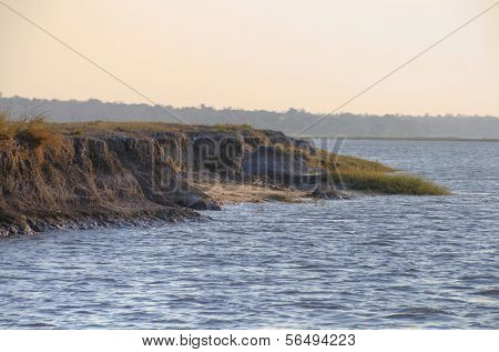 Landscape in Chobe National Park, Botswana, Africa