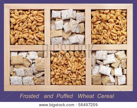 Frosted And Puffed Wheat Cereals