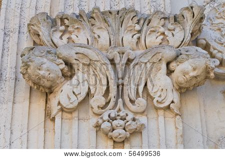 Duomo Church. Lecce. Puglia. Italy.