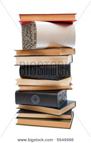 Hard Drives And Books