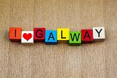 picture of galway  - I Love Galway - JPG