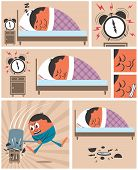 pic of short-story  - Short story about man having difficulty to wake up in the morning - JPG