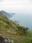 image of firn  - Landscape in the Lofoten islands in Norway - JPG