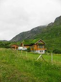 Wooden Bioclimatic House In The Lofoten Islands