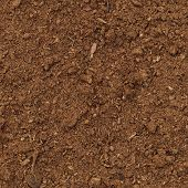 pic of humus  - Peat Turf Macro Closeup large detailed brown organic humus soil background pattern vertical - JPG
