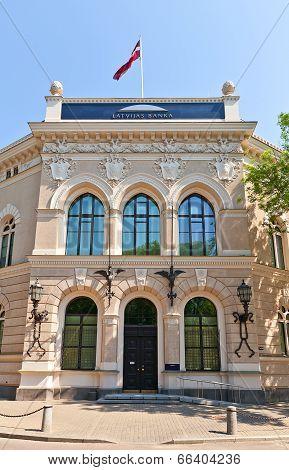 Bank Of Latvia Headquarters Building