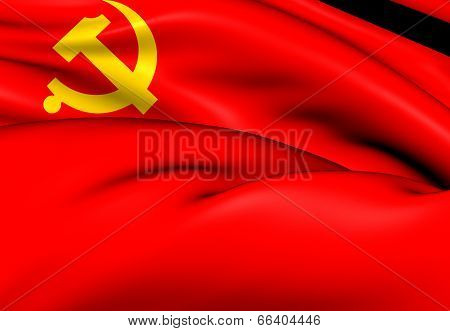 Flag Of The Chinese Communist Party