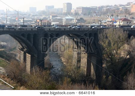 Victory Bridge In Yerevan