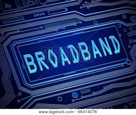 Broadband Concept.