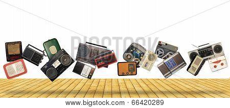 Dance retro recorders