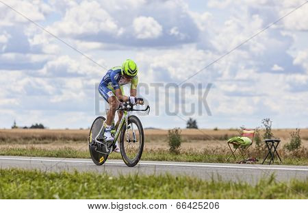 The Cyclist Dominik Nerz