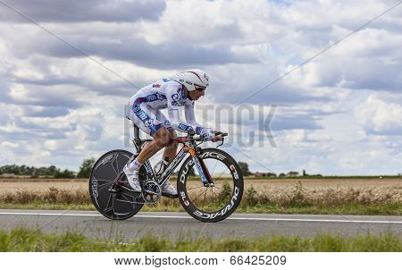 The Cyclist Pierrick Fedrigo