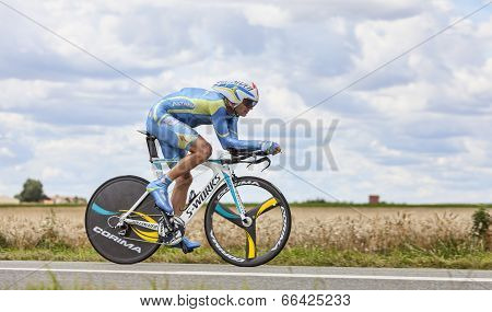 The Cyclist Andrij Grivko