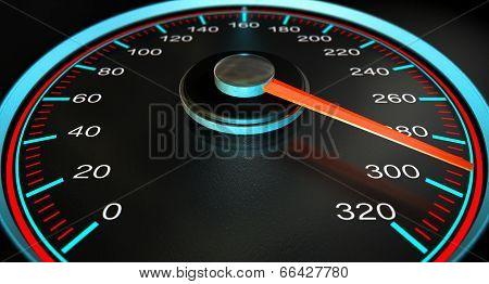 Speedometer Fast Speed