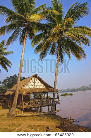 Hut By The River