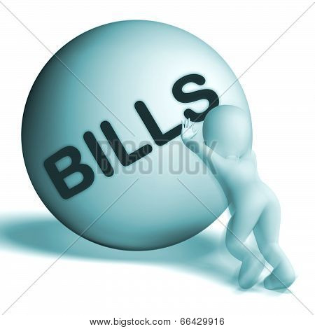 Bills Sphere Shows Invoice Or Accounts Payable