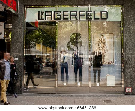 Karl Lagerfeld Store In Berlin