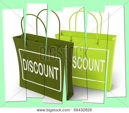 Discount Shopping Bags Show Bargains And Markdown Products