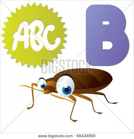 B is for Bedbug