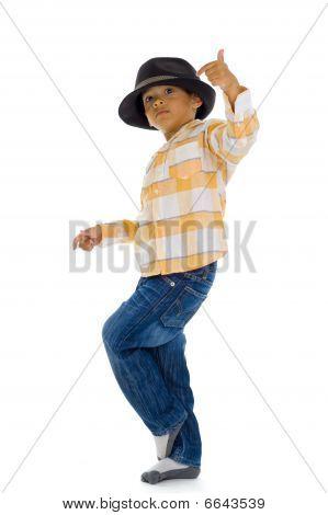 Cute Boy Dancing