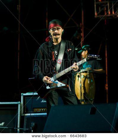 Carabao In Concert In Satahip, Thailand