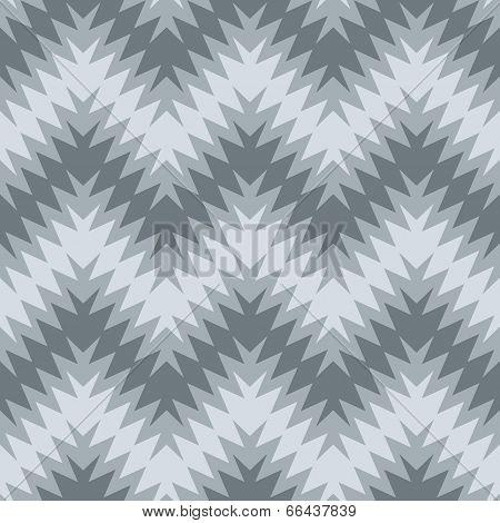 Blurry Zigzag in Grey