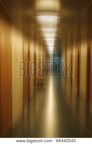 Long floor abstract