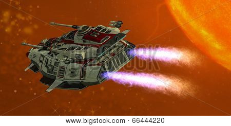 Ironstar In Space