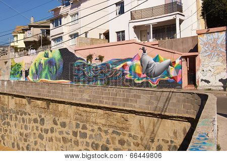 Street Art of Valparaiso
