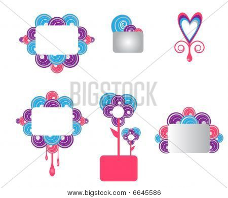 Colorful Frame Templates