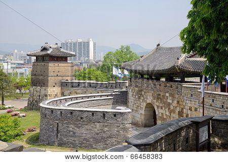 West Gate of Suwon Hwaseong, called Hwaseomun