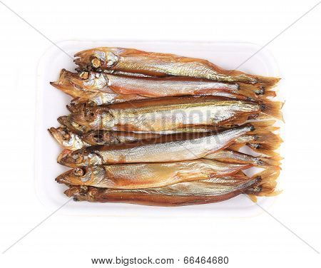 Golden smoke sprats