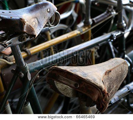 Urban retro bicycle